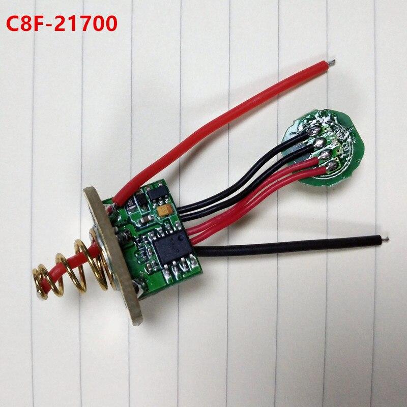Sofirn Taschenlampe Treiber Platine Anti-reverse Led-treiber Chip für verschiedene modelle SP32A C8F SP10A SP31 SP33