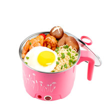 1.5L/1.8L MultiCookers Electric Skillet Noodles Rice Cooker Thermal Insulation Cooking Pot Pan Food Container WITH FREE GIFTS
