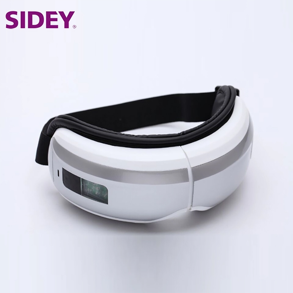 SIDEY Massager Machine Hot Compress Vibration Eye Electric Massager Machine/Myopia Health Care Massager Machine t 907 electric magnetic vibration eye care massager