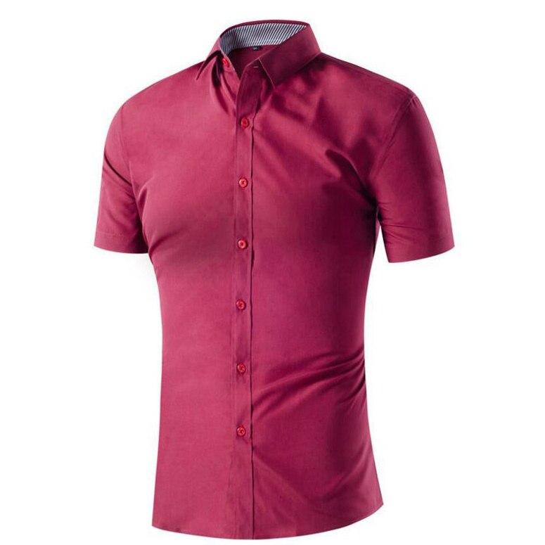 Online Get Cheap Mens Shirts Short Sleeve Casual Button Down ...