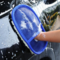 Car styling Soft Wool Car Wash Cleaning Glove Car Motor Motorcycle Brush Washer Auto Car Care Cleaning Tool Brushes Accessories