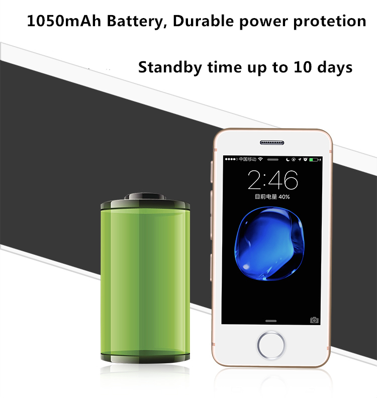 Smallest Smartphone Melrose S9P - battery life