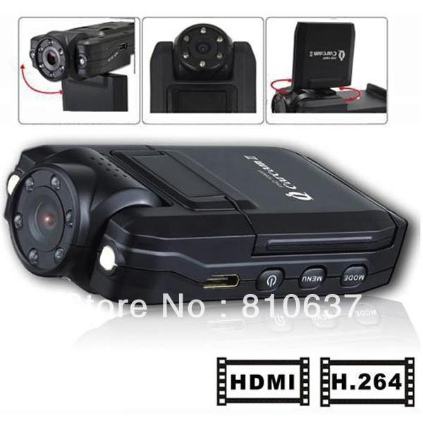 Carcam 5 2inch LCD Display Mini Cam Camcorder Portable Car DVR