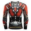 Transformadores Robô de Super-heróis de Manga Longa de Impressão 3D T Camisa Camisa Dos Homens de Fitness Tops Camisa Exercício Skintight Camisa Bicicleta