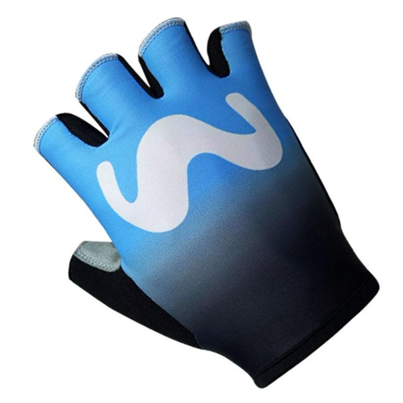 2018 Tour TEAM PRO cycling gloves gel pad palm Breathable BIG M half finger bike gloves