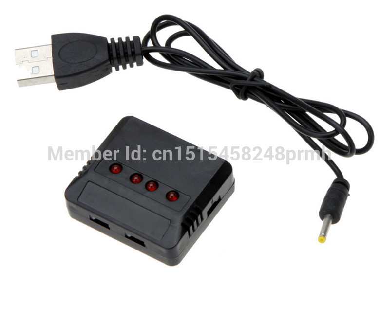 Original brand RC Helicopter Airplane 4port USB Lipo font b Battery b font Charger units For