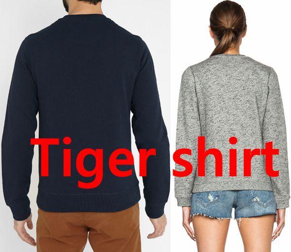 Luxury Paris Brand Deisgner Men Women Unisex Embroidered Animal head Sweatshirt Cotton Pullover Clothing Pull OSS3