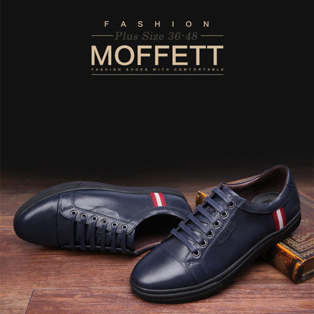 ZOCN Unisex Zapatos Ocasionales Respirables Mocasines de Alta Calidad de La Manera de Los Hombres de Cuero Genuino Zapatos de Los Planos de Zapatos de Las Señoras Negro Azul 36-48