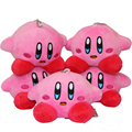 "[PCMOS] Super Star Kirby PoPoPo 12cm/4.7"" Mini Plush Toy Stuffed Doll Pendant Key Bag Charms 1pc Arcade Prizes T1438"