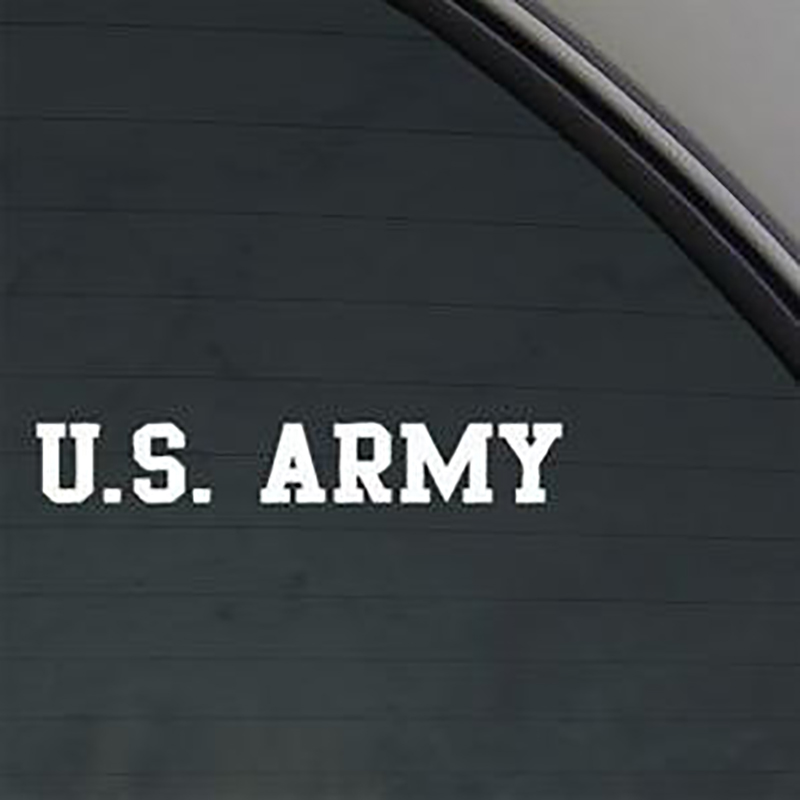 Us Army Stickers  Banner Usa Decal Car Truck Window Sticker 15x2.5cm
