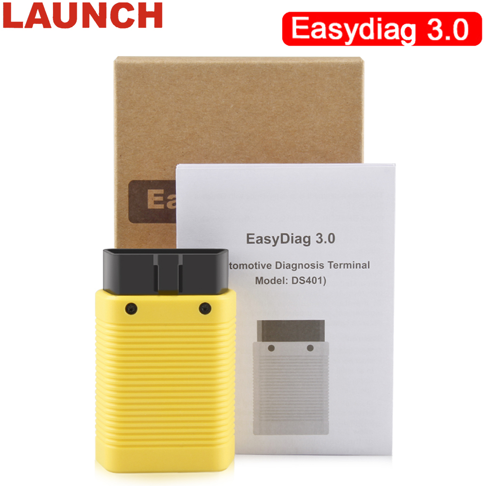 Launch Upgraded Easydiag 2.0 Plus Automotive OBD2 Diagnostic Tool OBDII Bluetooth Adapter Scanner for Android X431 EASYDIAG 3.0 launch x431 obd2 diagnostic tool obdii bluetooth adapter scanner cars code readers for ios android m diag