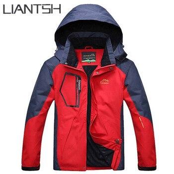 Waterproof Windproof Trekking Travel Spring Outdoor Jackets,Red Blue Green Men Women Camping Climbing Mountain Hiking Jackets