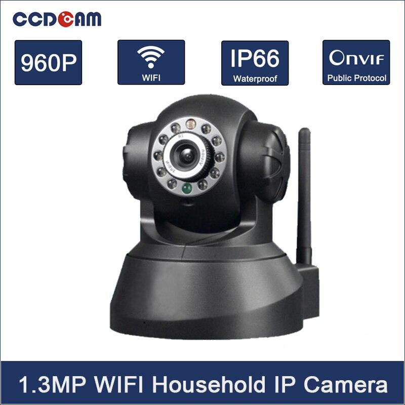 CCDCAM HD 960P 1.3MP CMOS sensor 2 Way Audio WIFI IP Camera 10pcs  IR LEDs Mega Pixel Email Alarm Pan/Tilt Cell Phone Control торшер leds c4 torino 25 4695 81 82 pan 159 by