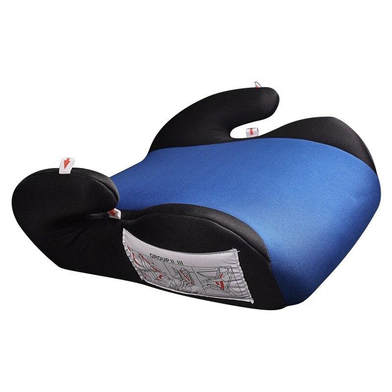 Nouveau coussin fixe chaud dinant la chaise rehaussez le coussin 6-12 ans enfants enfants sécurité voiture rehausseur siège tapis rehausseur coussin