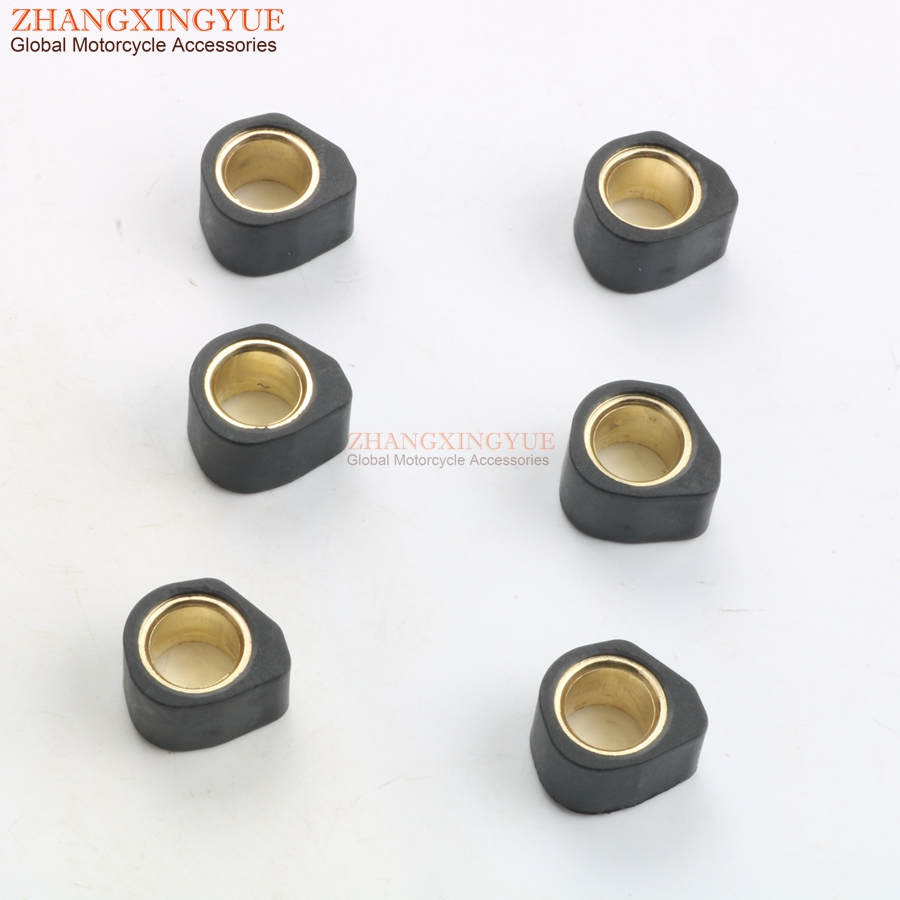 Performance Variator Roller Weights 13gram 20x15mm for <font><b>HONDA</b></font> <font><b>125</b></font> hiocciola Dylan Nes <font><b>Sh</b></font> Pcx Pantheon Pantheon Ps <font><b>125</b></font> 150cc image