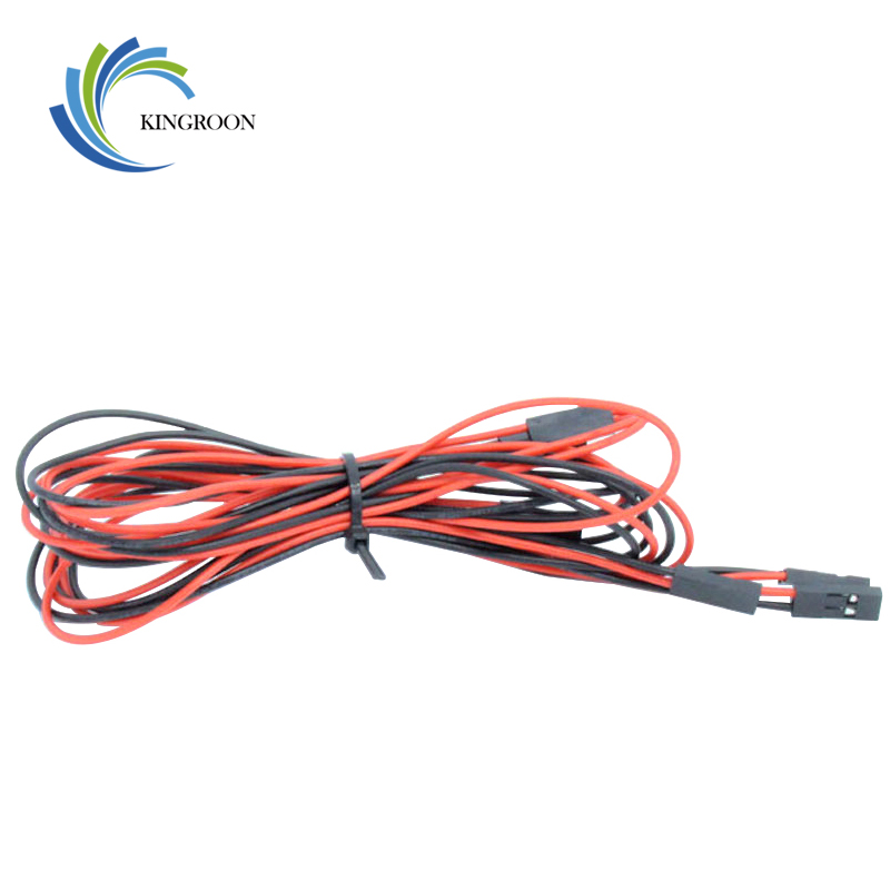 Free Shipping 5 Pcs/lot 70cm 2 Pin Female To Female Jumper Wire Dupont Cable 100CM 2pin Jumper Wire