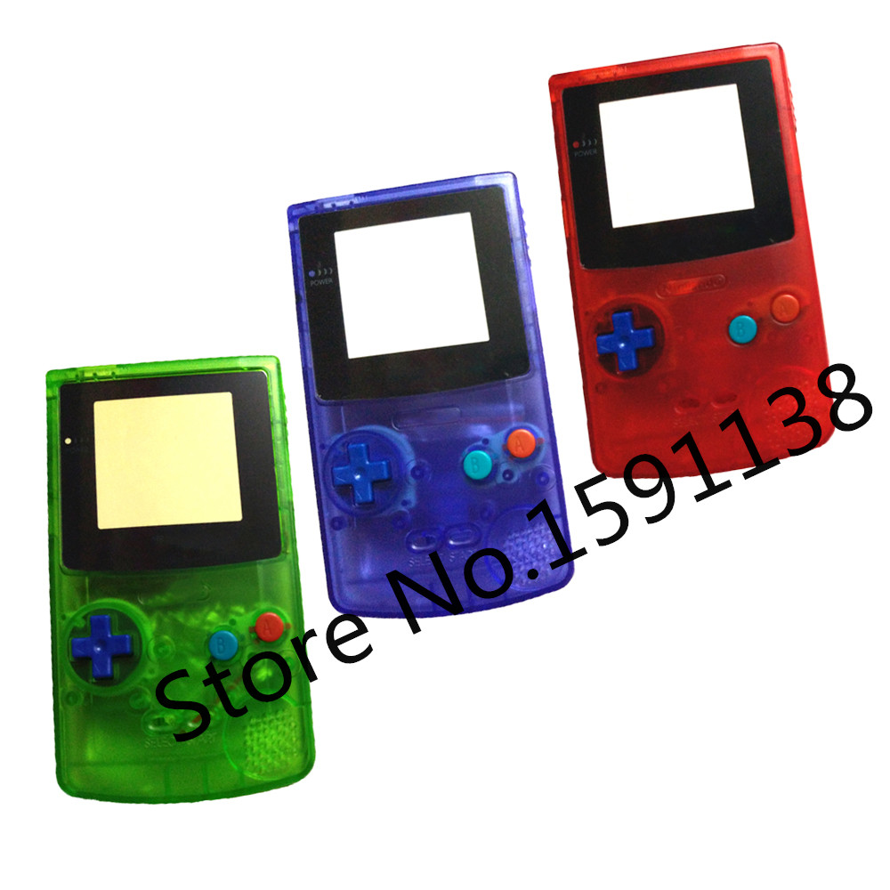 Gameboy color ad - Ga Gameboy Color Ad Hot 10pcs Lot Housing Case For Nintendo Gbc For Ga