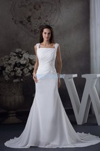 free shipping dresses for wedding 2013 new style white bridal handmade custom size ball gown dress chiffon draped edding dress