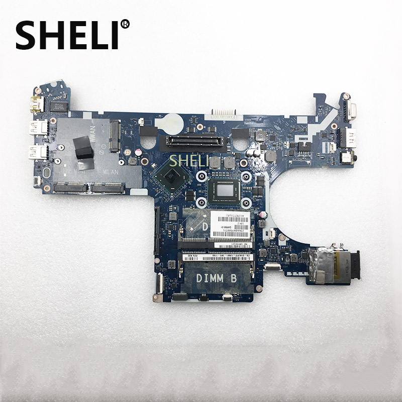 SHELI FOR DELL CN-0H62PP 0H62PP H62PP w i3-2350M CPU QAM00 LA-7731P Latitude E6230 Laptop NoteBook PC Motherboard MainboardSHELI FOR DELL CN-0H62PP 0H62PP H62PP w i3-2350M CPU QAM00 LA-7731P Latitude E6230 Laptop NoteBook PC Motherboard Mainboard