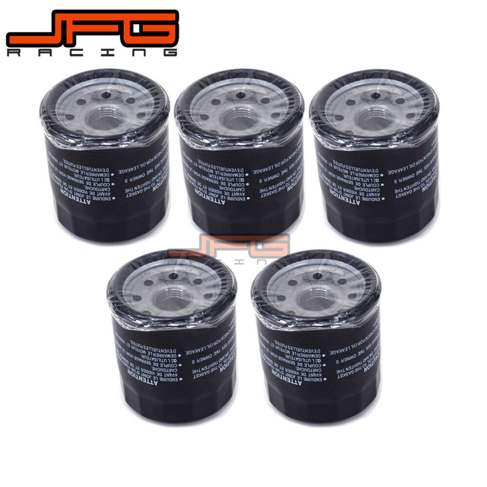 5 X Oil Filter Cleaner For HONDA RVF750 VF750 VFR750 VT750 XRV750 PC800 VFR800 CBR900 CB1000