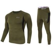 الشتاء جودة عالية جديد ملابس اخلية حرارية الرجال أطقم داخلية جريمي ضغط الصوف عرق التجفيف السريع الحرارية الملابس الداخلية الرجال الملابس