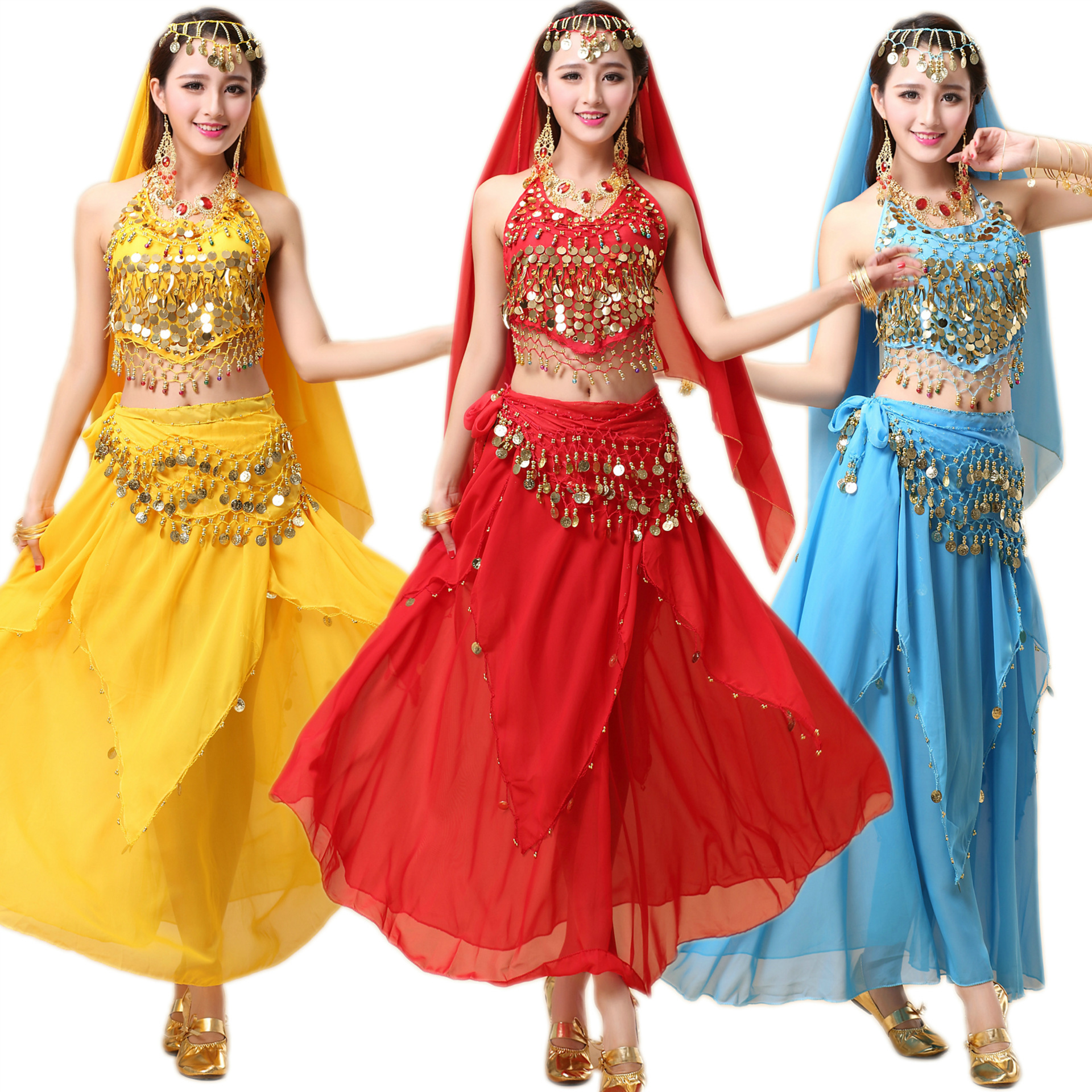 Egyptian Belly Dance Costume Indian Dresses India Belly
