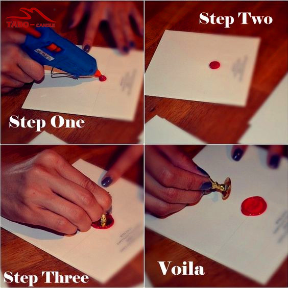 how to use sealing wax