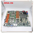 original motherboard For ASUS Z8NA-D6 LGA 1366 DDR3 for Xeon 5500 cpu UDIMM 24GB,RDIMM 48GB Desktop motherboard