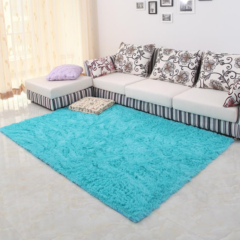 150*200 cm grande taille en peluche Shaggy tapis doux tapis antidérapants tapis de sol pour salon chambre décoration de la maison fournitures