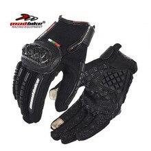 Madbike новые сенсорный экран перчатки мотоцикла мотоцикл мотокросс спорт на открытом воздухе велоспорт гонки водительские перчатки