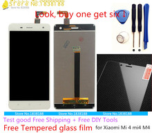 Xiaomi Mi4  Lcd screen the Original display Lcd + Touch panel assembly replacement For Xiaomi Mi4 mobile phone accessories