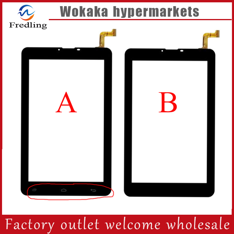 New 7 Oysters T74HMi 4G Touch Screen Digitizer Tablet Touch Panel Sensor Glass Replacement Free Shipping original new for 7 oysters t7b tablet touch screen f wgj70413 v1 pm702l digitizer sensors glass replacement parts free shipping