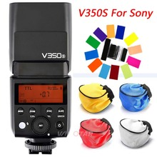Godox V350S TTL 2.4G Li-ion Camera Speedlite Flash with Built-in Rechargeable Battery for Sony ILCE6000L,a77II,RX10,a9,a99 etc.
