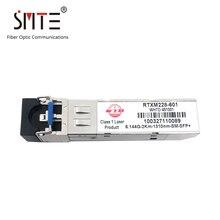 Módulo sfp do único modo de wtd RTXM228 601 + 6.144g 1310nm 2km sm rru