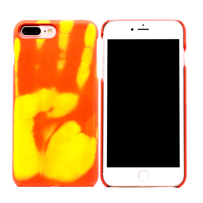 Phone Cases Thermal Mobile Phone Protective Case Temperature Color Change Protective Cover for iphone6s iphone7plus
