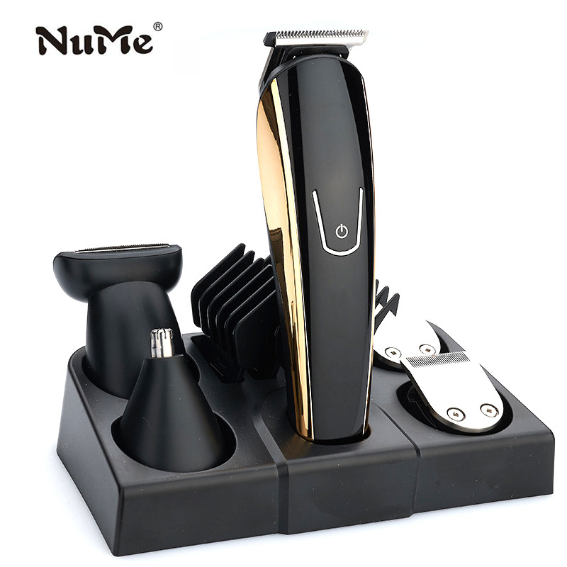 Professional Men Hair Trimmer 5 In 1 Hair Clipper Electric trimer for beard Razor Rechargeable Mustache Shaver Styling Tools ca–clipper 5 2