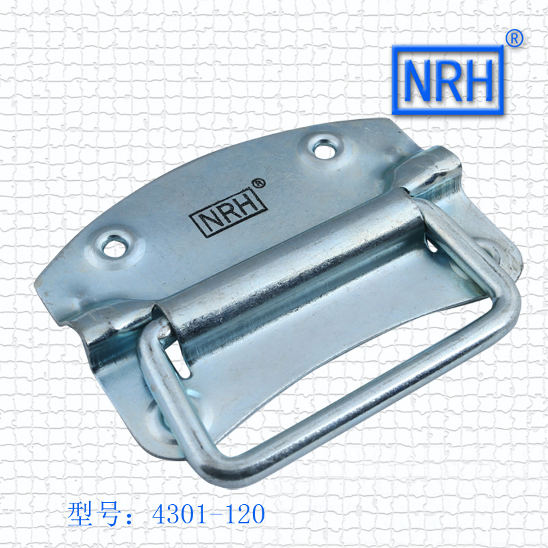 NRH4301-120 box ring Luggage handle Air box handle Wooden handle Industrial handle Iron material Galvanized redmond rms 4301