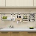 DIY SUS 304 Stainless Steel kitchen rack, DIY wall Kitchen Shelf, DIY Kitchen Holder Organizer
