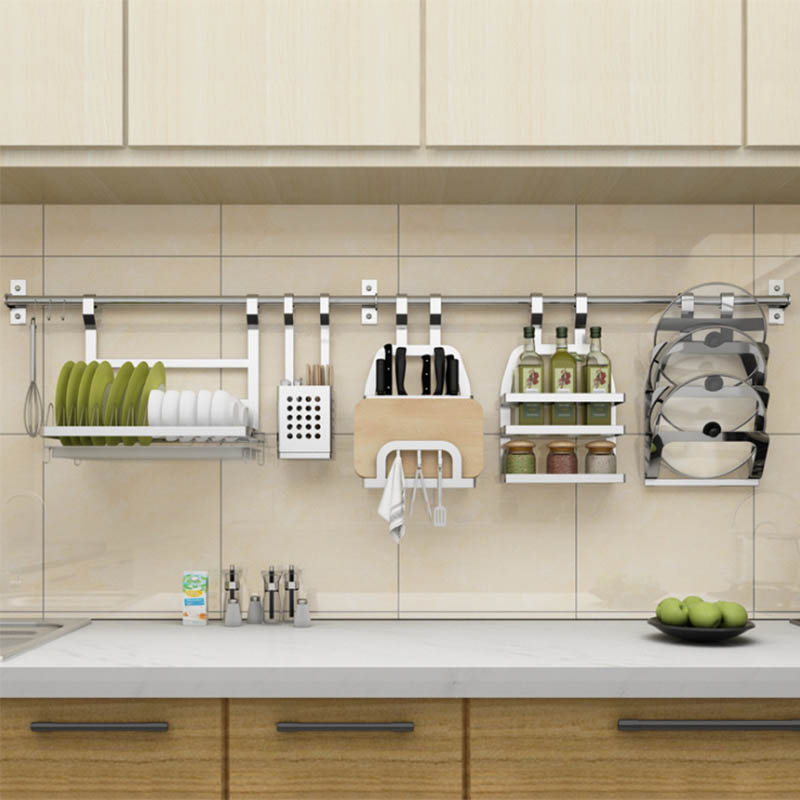 Kitchen Wall Groupings: DIY SUS 304 Stainless Steel Kitchen Rack, DIY Wall Kitchen