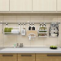 SUS 304 Stainless Steel   kitchen   rack, wall   Kitchen   Shelf, DIY   Kitchen   Holder Organizer
