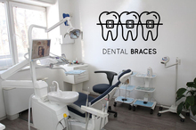 Teeth Care Wall Sticker Mural Poster Dental Clinic Vinyl Wall Decal Removable Tooth Shop Decoration Quote Window Decor J082 dental children removable deciduous teeth model permanent tooth alternative display studying teaching tool