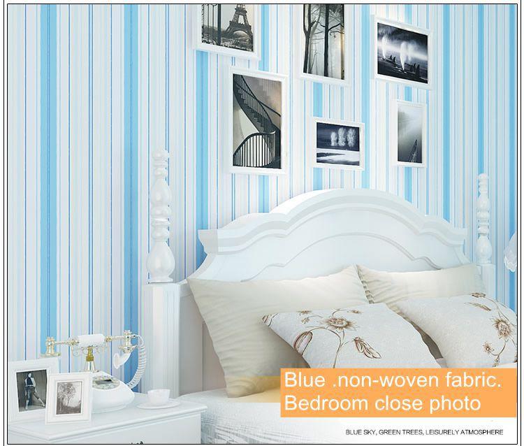 comprar papel de pared papel pintado a rayas para nio y nia nio pintado no tejido dormitorio pared del pvc de papel de color rosa y azul