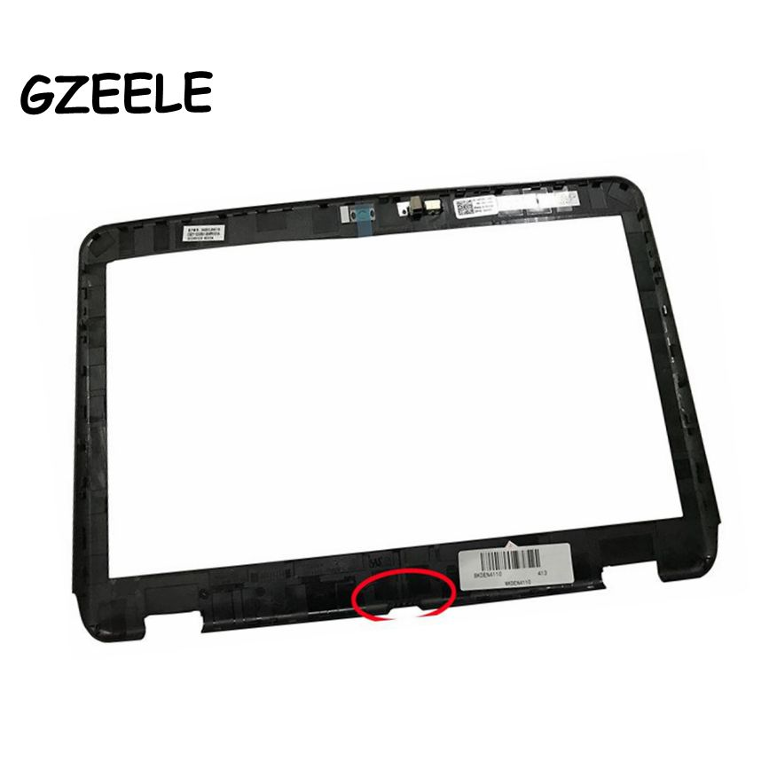 NEW LCD Front Bezel For Dell Inspiron 14R N4110 M411R LCD B Cover B Shell LCD Front Bezel Case W/Camera Hole 02PVR6 2PVR6
