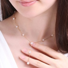 Imitation Pearl Jewelry Set Simulated Pearl Women Earrings Necklace Bracelet Sets for Wedding недорого