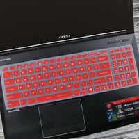 For MSI GT75 GE75 GS75 GE73VR GF75 GL73 GP73 WE73 GS73VR GT73VR GL72M GF72VR 17.3 inch Laptop Keyboard cover Skin Protector film