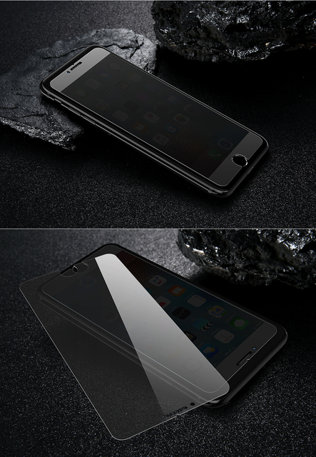Anti Spy Protective Tempered Glass for iPhone