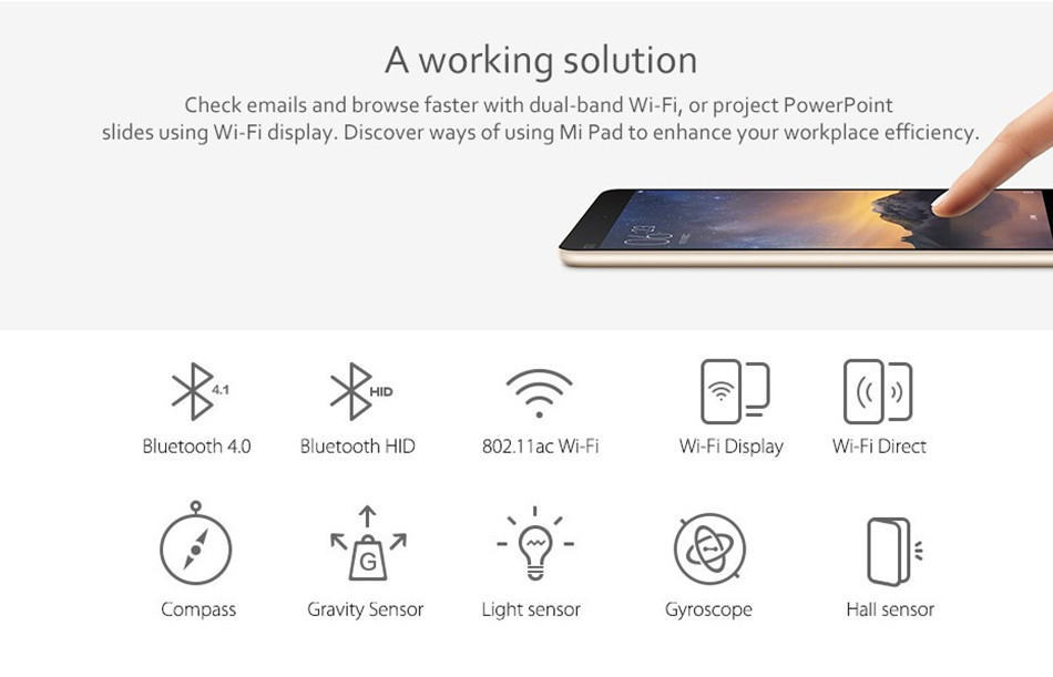 Original Xiaomi Mipad 2 8