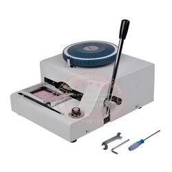 Karta pcv maszyna stemplująca brajlowska gorąca folia brajlowska złota folia tłoczenie na karta papierowa wizytówka drukarka ręczna brajlowska