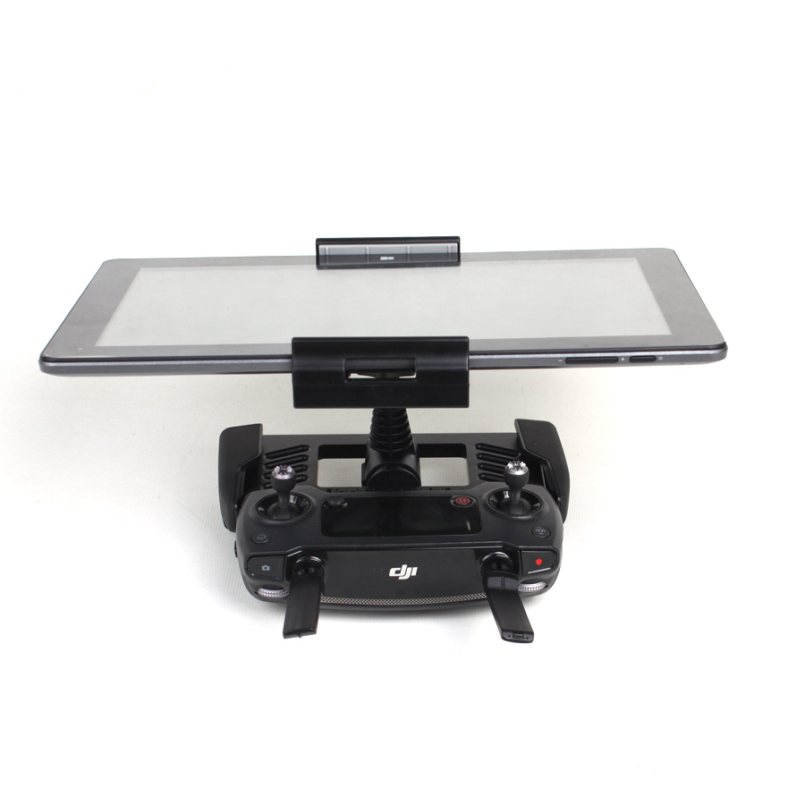 Drone Phone Tablet Holder for DJI Mavic Pro//Spark Quadrocopter Remote Extended Support Bracket Black