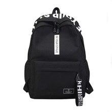 Men Women Backpack School Bag For Teenagers Harajuku New Fashion College Waterproof Oxford Travel Bag Laptop Backpacks